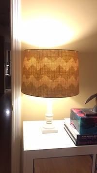 brown and white table lamp Toronto, M6P 1Z9