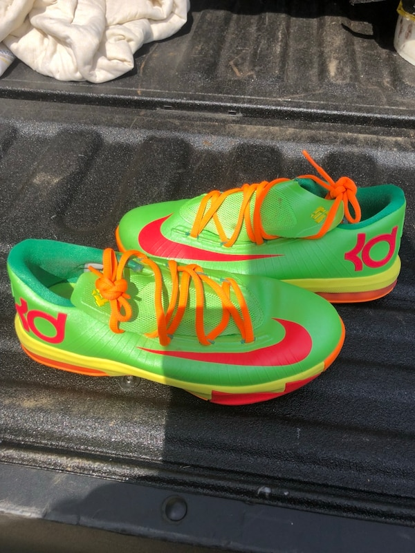 "Nike KD  (Kevin Durant) 6 GS ""Candy"" in flash lime/ 42998692-4868-4d47-b203-f0baa3ac64f5"