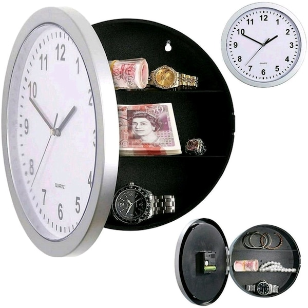 Hidden Safe Clock ...Brand NEW IN BOX...