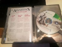 Assassin's Creed PS3 game disc 805 km