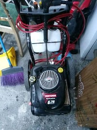 black and red Craftsman pressure washer Oakland, 94603