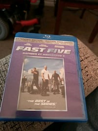 Fast Five extended edition Blu-ray Ottawa, K1K 4W3
