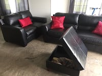 ***** LIKE NEW Leather Couch Set ***** Reedsville, 17084