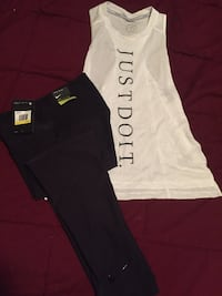 white and black Pink by Victoria's Secret pants Baton Rouge, 70811