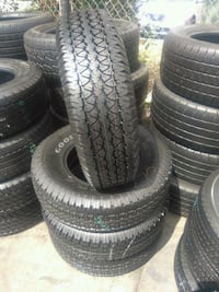 Seminew set of 4 tires P235/75/R15 GOODYEAR WRANGL
