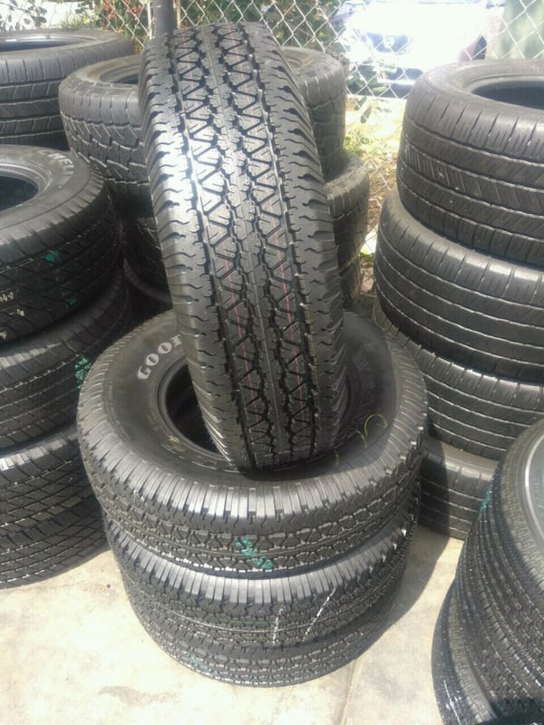 Seminew set of 4 tires P (Phone number hidden by letgo) DYEAR WRANGL 74e810be-88fe-4ef6-9974-085c3e769a2c