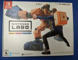 Nintendo Switch Labo Toy-Con 02 Robot Kit - Brand New