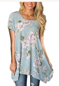 Women's blue and pink floral dress Seattle, 98121