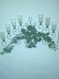 Wall mount glass candle holder New Eagle, 15067