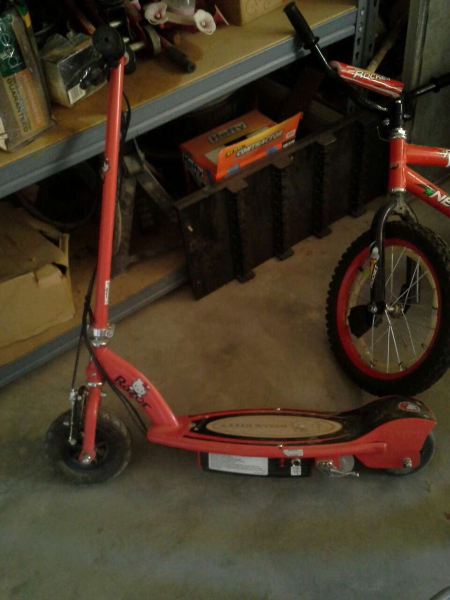 Used 9 Hello Kitty Electric Scooter With Charger In Brawley