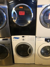Mix&match front load dryer&washer, in perfect condition