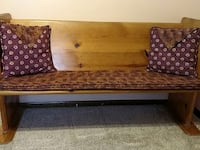 pew bench, 5 foot knotty pine Lincoln, 68516