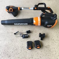 ***NEW***Worx leaf blower and weed eater combo.  Never used.. Manassas, 20111