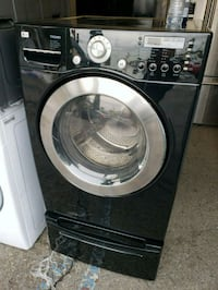 LG Front Load Washer with Pedestal Lynwood