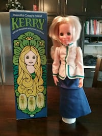 Kerry doll with growing hair