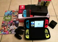 Nintendo Switch Pack with games Bordeaux