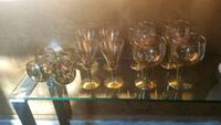 Goldpleated assorted glasses  La Puente, 91745