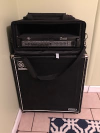 Ampeg SVT 3 pro head with classic 4X10 cabinet bass guitar