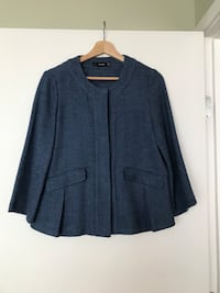 Blue tweed blazer / jacket Vancouver, V6B 2W1