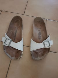 Sandales Birkenstock blanches  Istres