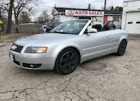 2003 Audi A4 Certified/Convertible/Automatic/Leather/Bluetooth Scarborough, ON M1J 3H5, Canada
