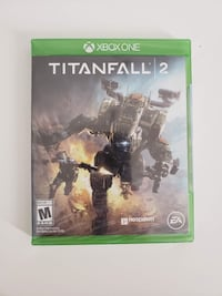 TITAN FALL 2 DVD game for Xbox one console , new , sealed condition.