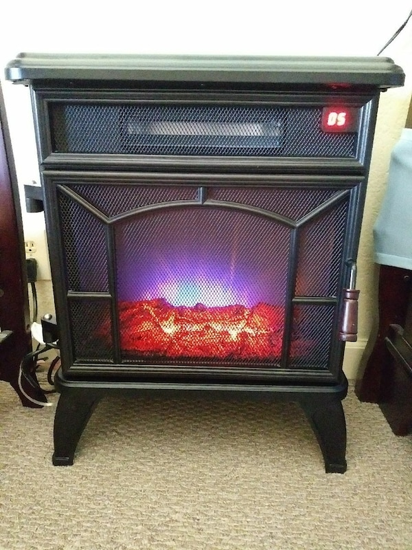 Used Decorative Electric Space Heater For Sale In Boca Raton Letgo