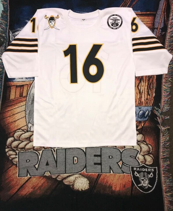 best website 31d71 a92b5 NEW OAKLAND RAIDERS 1960 Throwback #16 George Blanda Stitched Jersey, White  Size XL (Fits like a 2XL) Very Nice!!!