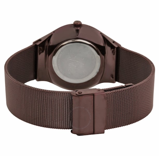 New ToyWatch Unisex Bronze Mesh 40mm Watch 1