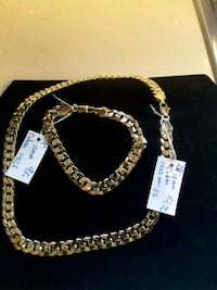 Curb Braclete & Chain 25$ ea/ Set 45$  Valentine's day Gift * Ladson, 29456