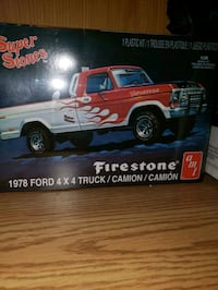 2 model's.  1978 ford truck, and Ghostbusters Ecto-1A plasma