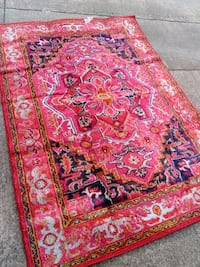 Pink and colors floral area rug Akron, 44321