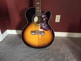 Jumbo Acoustic Electric Guitar