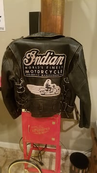 Rare Indian Motorcycle Jacket FALLSCHURCH
