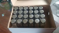 24 salt and pepper shakers, full