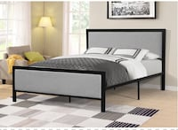 Brand new queen bed with mattress