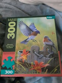 300 piece puzzle, great for kids 26 km