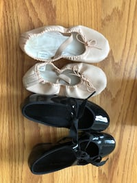 Tap and ballet shoes size 13 Branford, 06405