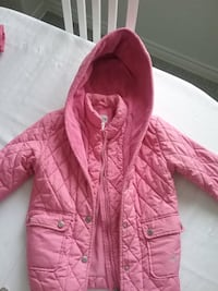 pink zip-up jacket