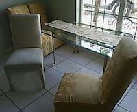 Dining room table and chairs Jupiter, 33478