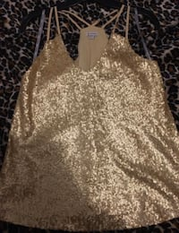 guess gold sequin top  Montreal