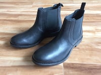 Mens black leather chelsea boots Calgary, T1Y 6X9