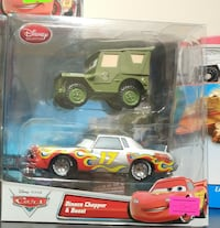 Disney Cars arabalar ikili set 8414 km