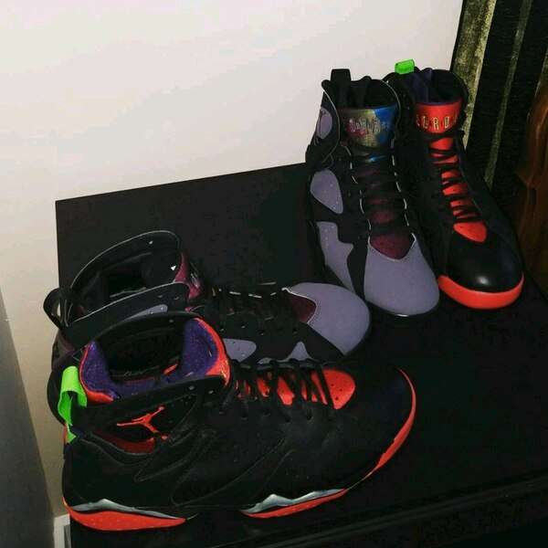 a6e85531e66a1e Used Used Air Jordan 7 Bordeaux Size 12(Grey and black) for sale in Nanaimo  - letgo