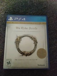 Elderscrolls online PS4 used lightly St. Augustine, 32080