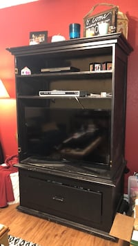 Black TV cabinet/ armoire Greenville, 75402