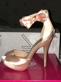 Rose gold/ Champaign women's heel shoes New Castle, 19720