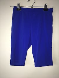 Women fitted blue biker shorts and tube top size XS Burnaby, V3J 0A4