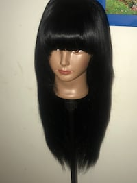 Long bang wrap wig Baltimore, 21212