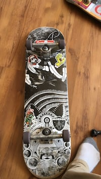 black and white skateboard deck Toronto, M6S 3R2